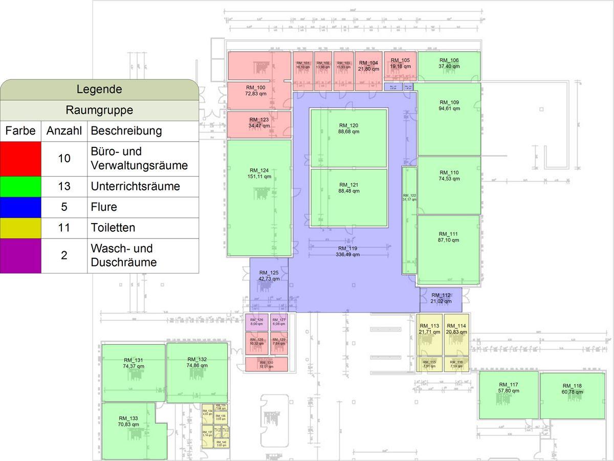 Cafm mit visio visio aided facility management for Auflagerberechnung beispiel